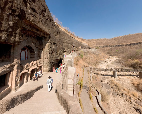 Ajanta Caves with Deccan Odyssey